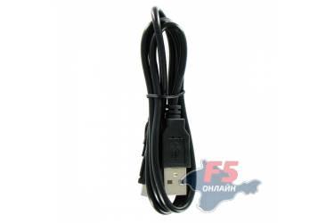 Кабель USB micro 0,8 m (черный) тех пак