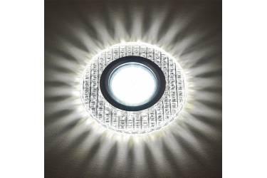 Светильник точечный Uniel DLS-L143 GU5.3 GLASSY/CLEAR без лампы