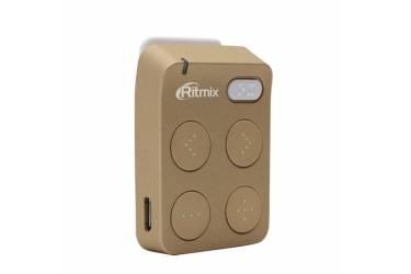 Портативный цифровой плеер Ritmix RF-2500 8Gb золотистый