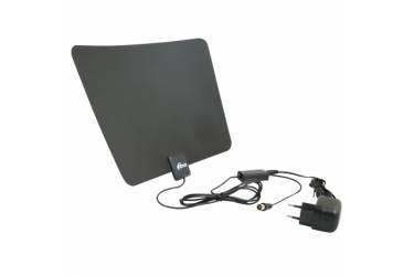 Антенна телевизионная комнатная Ritmix RTA-170 DVB-T2 Ultra Slim активная