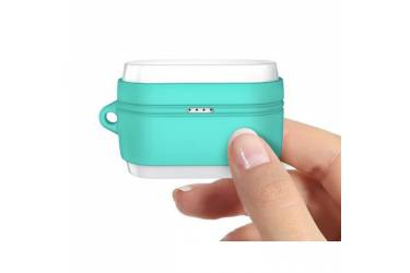 Силиконовый чехол для наушников Meizu POP Blue