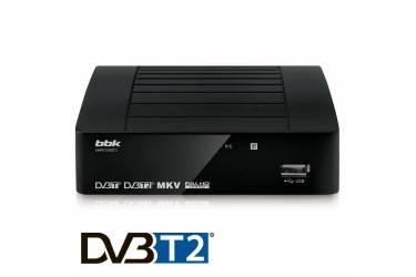 Цифровой TV-тюнер BBK T2 SMP012HDT2 черный