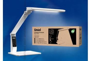Светильник настольный Uniel LED TLD-508 White/840Lm/4 режима/USB порт/диммер