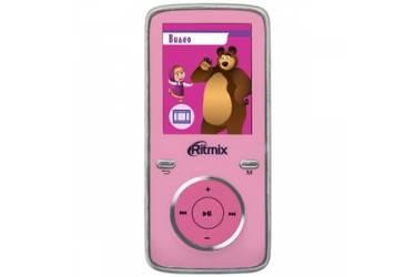 Портативный цифровой плеер Ritmix RF-4950M 4Gb розовый