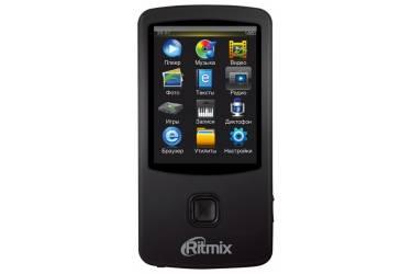 Портативный цифровой плеер Ritmix RF-7100 8Gb черный