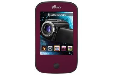 Портативный цифровой плеер Ritmix RF-7200 4Gb красный