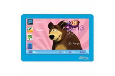 Портативный цифровой плеер Ritmix RP-450M HD 4Gb голубой