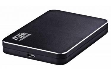 """Внешний корпус для HDD AgeStar 3UB2A18C SATA алюминий черный 2.5"""""""