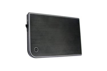"Внешний корпус для HDD/SSD AgeStar 3UB2A14 SATA II пластик/алюминий черный 2.5"""