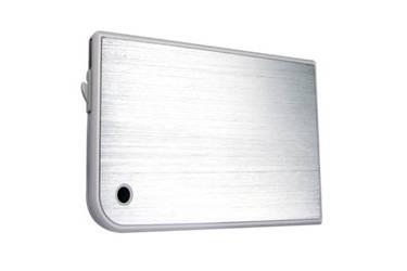 "Внешний корпус для HDD/SSD AgeStar 3UB2A14 SATA II пластик/алюминий белый 2.5"""
