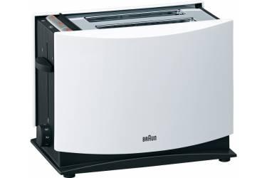 Тостер Braun HT400 WH 1080Вт серебристый