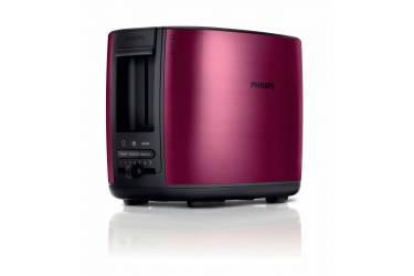 Тостер Philips HD2628/00 950Вт бордовый/черный