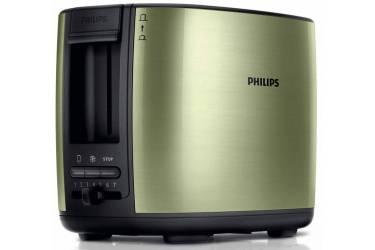 Тостер Philips HD2628/10 950Вт зеленый
