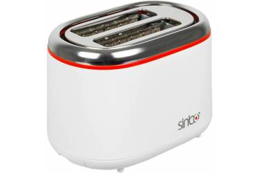 Тостер Sinbo ST 2420 850Вт белый/красный