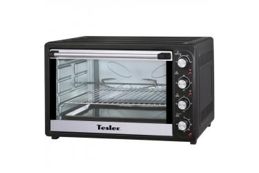 Мини-печь Tesler EOG-8000 Black 80л 2200Вт гриль,вертел,конвекция,4тена,таймер,противень,реш для выпечки
