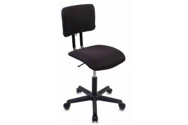 Кресло Бюрократ CH-1200NX/BLACK без подлокотников черный