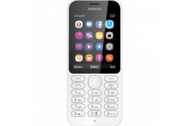 Мобильный телефон Nokia 222 Dual Sim White