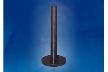Основание для парковых светильников Uniel UFP-E11BN-400 BLACK столбик 400 мм