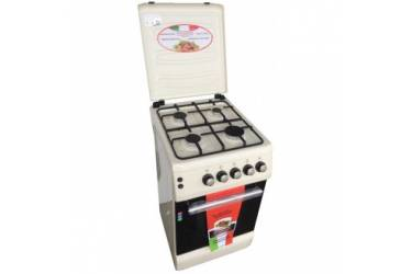 Комбинированная плита Lofratelli OGE 5640 BG бежевый г/э электроподжиг м/р дух 50л