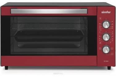 Мини-печь Simfer M 3524 красно-чёрная 35 л решётка противень