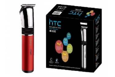 Машинка для стрижки волос НТС, АТ-1302 красный аккумулятор 2шт*400 мAh