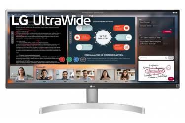 "Монитор LG 29"" UltraWide 29WN600-W белый IPS LED 21:9 HDMI M/M матовая 250cd 178гр/178гр 2560x1080 DisplayPort FHD 4.7кг"