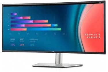 """Монитор Dell 34"""" UltraSharp U3421WE черный IPS LED 21:9 HDMI M/M матовая HAS Pivot 300cd 178гр/178гр 3440x1440 DisplayPort UWQHD USB"""
