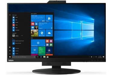"Монитор Lenovo 27"" ThinkCentre TIO 27 черный IPS 6ms 16:9 HDMI M/M Cam HAS Pivot 350cd 178гр/178гр 2560x1440 DisplayPort WQHD USB 7.95кг"
