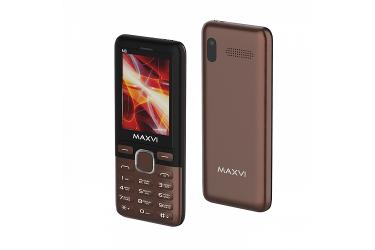 Мобильный телефон Maxvi M6 coffee