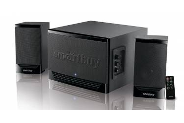 sp Smartbuy GOLIATH, 50Вт, Bluetooth, MP3,FM,ПДУ, черн  2.1
