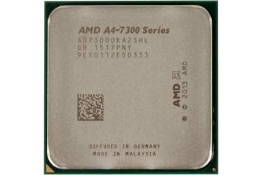 Процессор AMD A4 7300 FM2 (AD7300OKHLBOX) (3.8GHz/5000MHz/AMD Radeon HD 8470D) Box