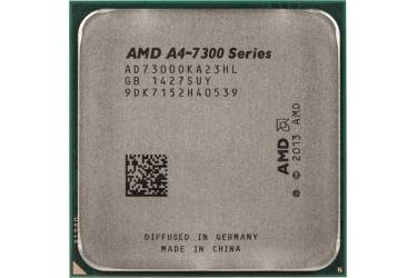 Процессор AMD A4 7300 FM2 (AD7300OKA23HL) (3.8GHz/5000MHz/AMD Radeon HD 8470D) OEM