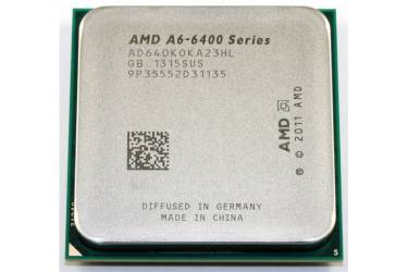 Процессор AMD A6 6400K FM2 (AD640KOKA23HL) (3.9GHz/5000MHz/AMD Radeon HD 8470D) OEM
