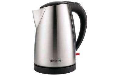 Чайник электрический Gorenje K17FE 1.7л. 2200Вт серебристый матовый (корпус: металл/пластик)