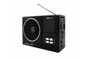 Радиоприемник портативный Сигнал Эфир-10 черный