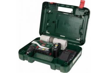 Дрель-шуруповерт Bosch PSR 18 LI-2 аккум. патрон:быстрозажимной (кейс в комплекте)
