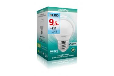 Светодиодная (LED) Лампа Smartbuy-G45-9,5W/4000/E27