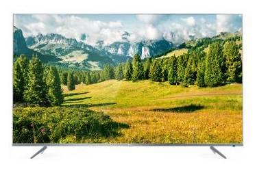 """Телевизор TCL 43"""" L43P6US Metal серебристый"""