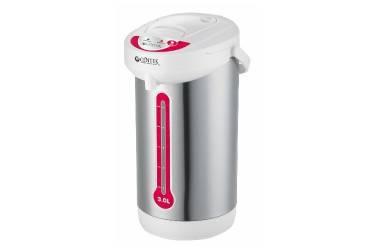 Термопот Centek CT-0082 White 5л, 750Вт, 3 способа подачи воды, корпус из нержавеющей стали