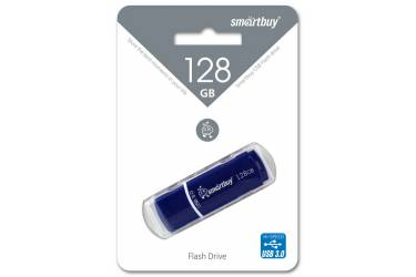 USB флэш-накопитель 128GB SmartBuy Crown синий USB3.0
