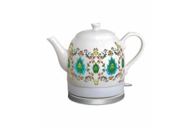 Чайник электрический Ester Plus ET - 200 керамика с рисунком 1,2 л.