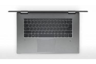 "Трансформер Lenovo IdeaPad YOGA 720-15IKB Core i5 7300HQ/8Gb/SSD256Gb/nVidia GeForce GTX 1050 4Gb/15.6""/IPS/Touch/FHD (1920x1080)/Windows 10/grey/WiFi/BT/Cam"