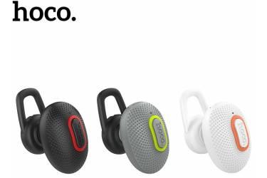 Гарнитура Bluetooth Hoco E28 Cool Road (серый)
