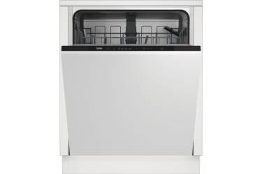 Посудомоечная машина Beko DIN14W13 2100Вт полноразмерная белый