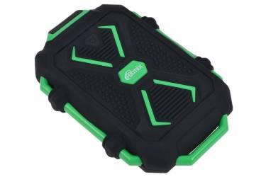 Внешний аккумулятор Ritmix 10400 mAh RPB-10407LT black + green