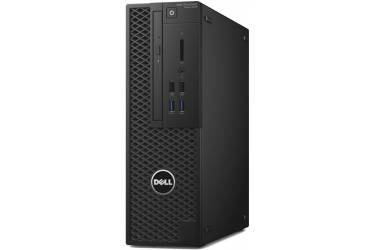 ПК Dell Precision 3420 SFF Xeon E3-1220v5 (3)/8Gb/1Tb 7.2k/P600 2Gb/DVDRW/Windows 7 Professional 64 W10Pro Lic/GbitEth/черный
