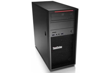 ПК Lenovo ThinkStation P320 MT i7 7700 (3.6)/8Gb/SSD256Gb/HDG630/DVDRW/CR/Windows 10 Professional 64/GbitEth/400W/клавиатура/мышь/черный