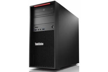 ПК Lenovo ThinkStation P320 MT i7 7700K (4.2)/16Gb/SSD512Gb/HDG630/DVDRW/CR/Windows 10 Professional 64/GbitEth/400W/клавиатура/мышь/черный