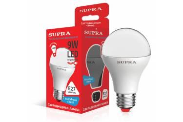Лампа светодиодная SUPRA_ ECO_A60-09W/4000/E27 _стандарт