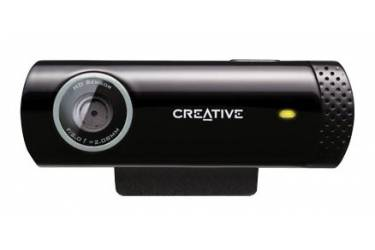 Камера Web Creative Live! Cam Chat HD черный USB2.0 с микрофоном